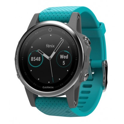 Смарт-часы Garmin Fenix 5S Silver Turquoise