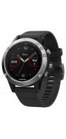 Смарт-часы Garmin Fenix 5 (silicone) Silver Black
