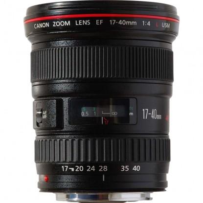 Объектив Canon EF 17-40 F4.0L USM
