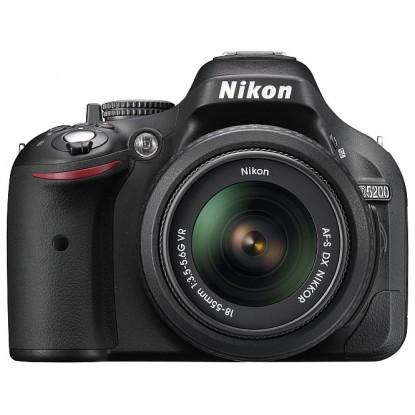 Зеркальный фотоаппарат Nikon D5200 Kit 18-55 AF-S DX VR